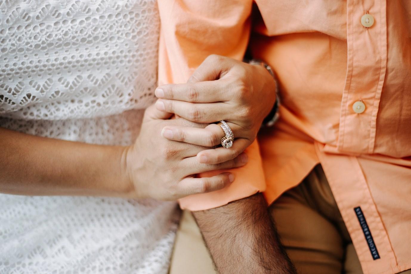 hand in hand taken by vietnamese wedding photographer in hoi an