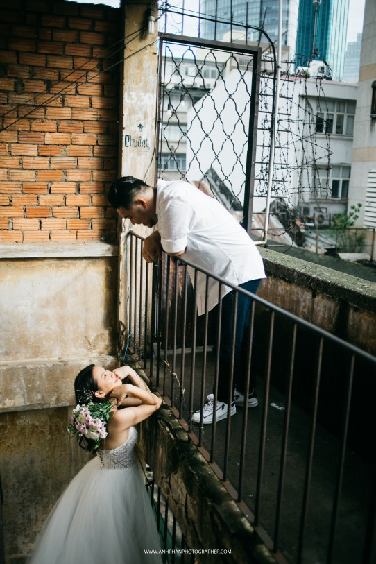 engagement in ho chi minh taken by vietnam wedding photographer