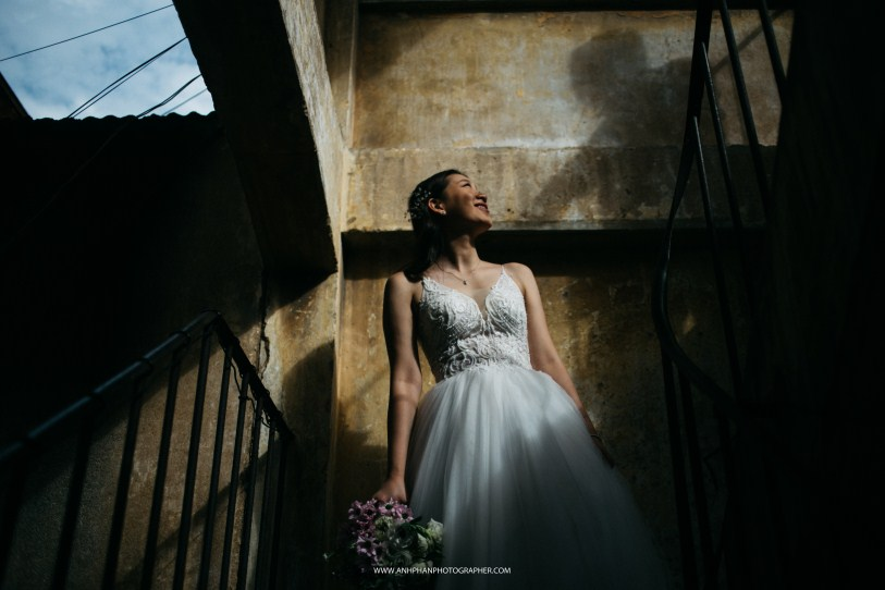 bride in ho chi minh taken by vietnam wedding photographer