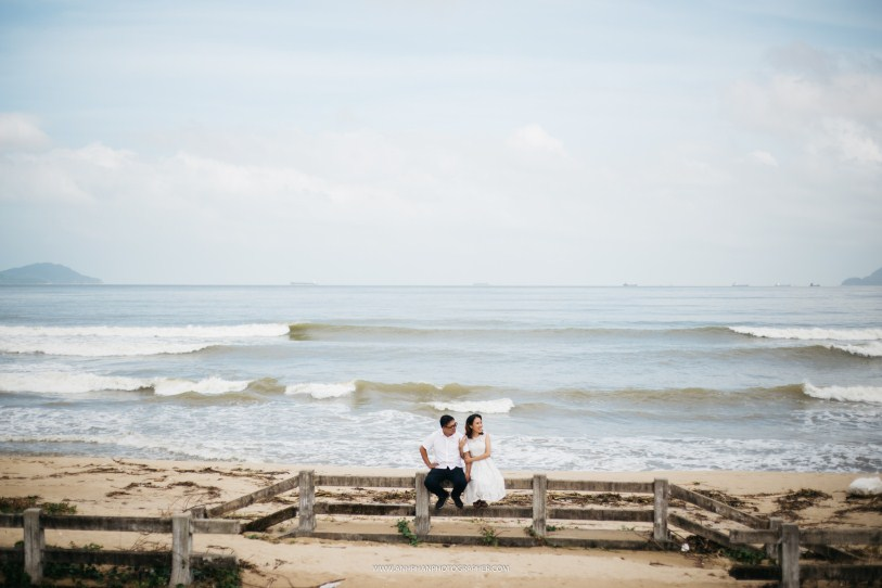 beach in hue taken by hue wedding photographer